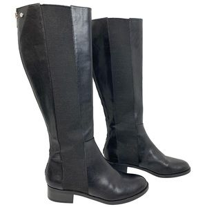 Calvin Klein Leather Knee High Boots